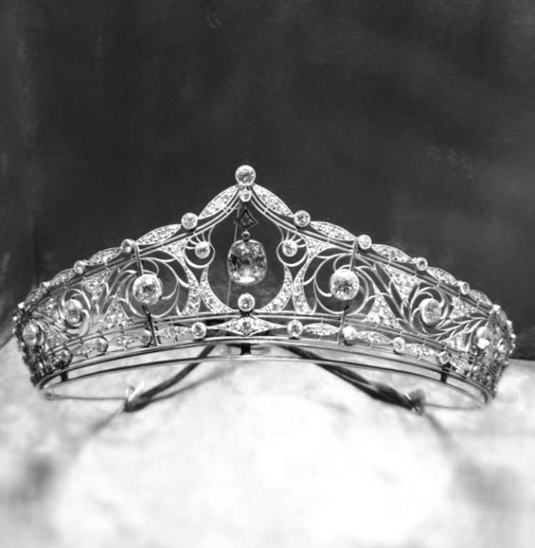 couronne de diamants